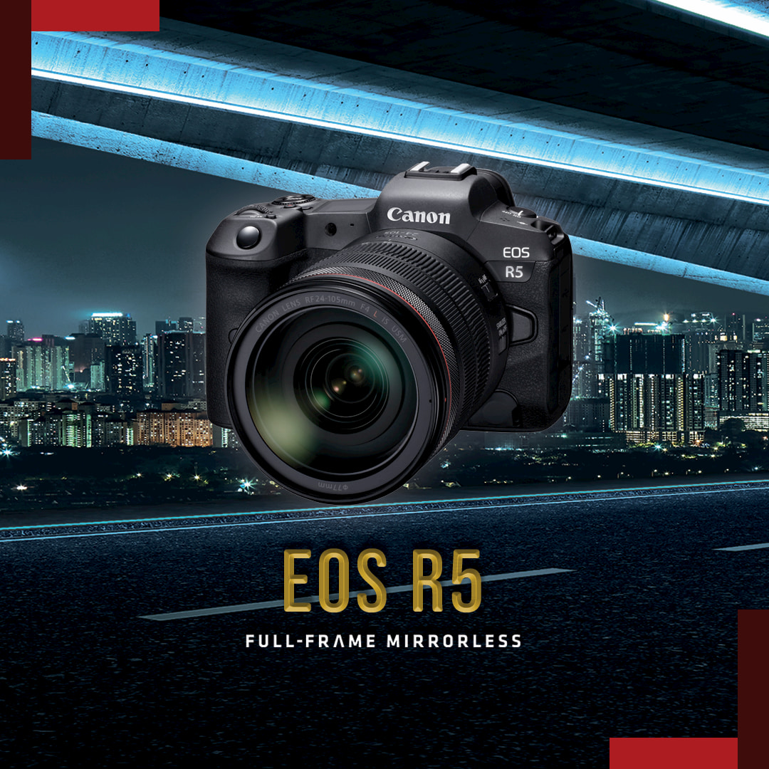 最新一代Canon 全片幅無反光鏡單眼與多款RF鏡頭亮相 !