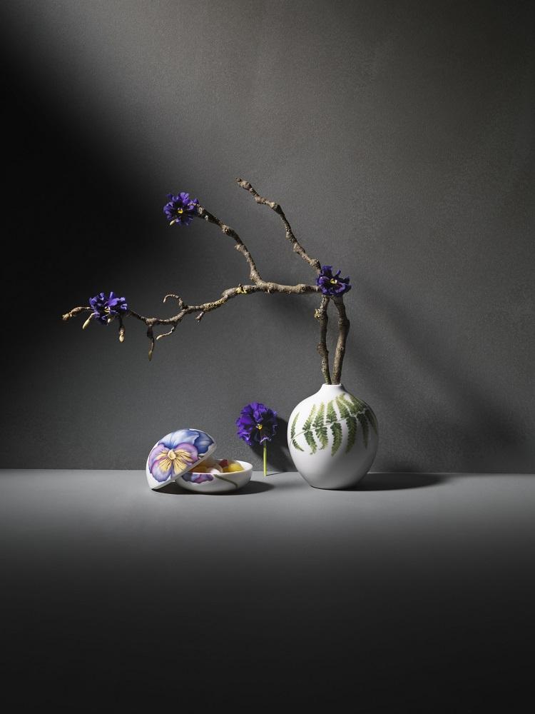 紫藍色三色堇:無條件的愛 天使親吻的印記